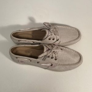 Sperry Shoes - Sperry Songfish Canvas Boat Shoes Women 6.5